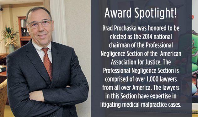 Award Spotlight: Brad Prochaska
